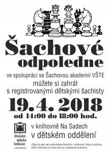 Šachové odpoledne 2018-04-19